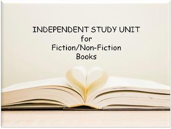 Novel Study - Independent Study Unit