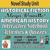 American History Novel Study Interactive Notebook MEGA BUNDLE!