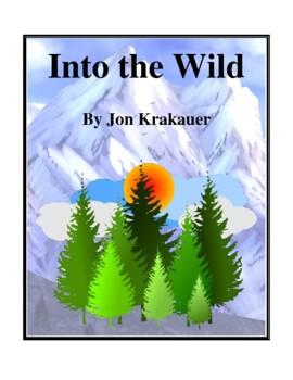 Novel Study, Into the Wild (by Jon Krakauer) Study Guide