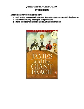 Novel Study - James and the Giant Peach Checkpoint Questions