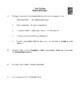 Novel Study, Jean Val Jean (by Solomon Cleaver) Study Guide (Les Miserables)