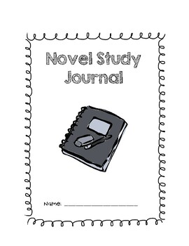 Novel Study Journal Cover