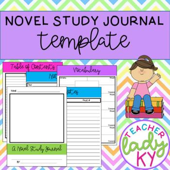 Novel Study Journal Template