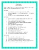 Novel Study, Julius Caesar (by William Shakespeare) Study Guide