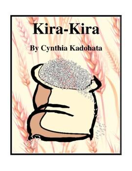 Novel Study, Kira-Kira (by Cynthia Kadohata) Study Guide