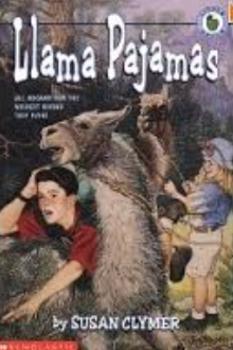 Novel Study: Lama Pajama's