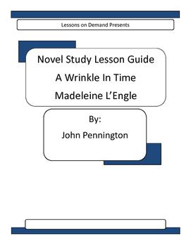 Novel Unit A Wrinkle In Time  Madeleine L'Engle