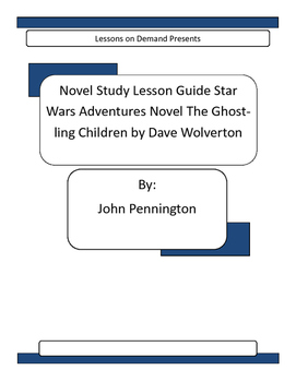 Novel Unit Star Wars Adventures Novel The Ghostling Children