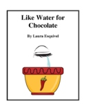Novel Study, Like Water for Chocolate (by Laura Esquivel) Study Guide