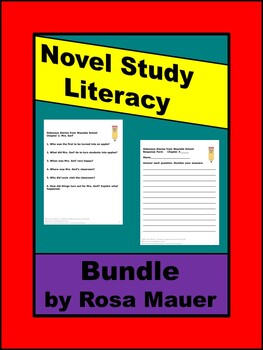 Novel Study Literacy Bundle