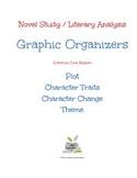 Novel Study / Literary Analysis Graphic Organizers