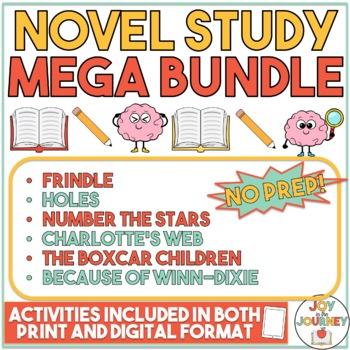 Novel Study MEGA Bundle: 6 packets in one!