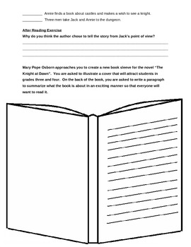 Novel Study - Magic Tree House - Knight at Dawn