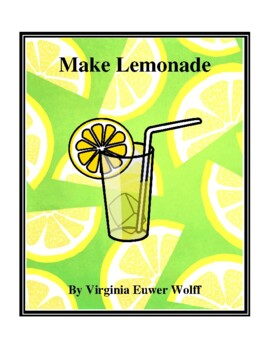 Novel Study, Make Lemonade (by Virginia Euwer Wolff) Study Guide