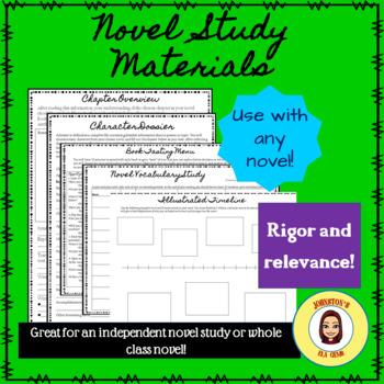 Novel Study Materials