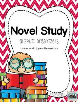 Novel Study Menu and Graphic Organizers