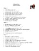 Novel Study, Miracle's Boys (by Jacqueline Woodson) Study Guide