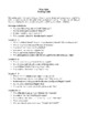 Novel Study, Moby Dick (by Herman Melville) Study Guide