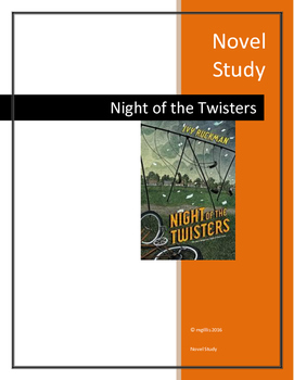 Novel Study: Night of the Twisters by Ivy Ruckman