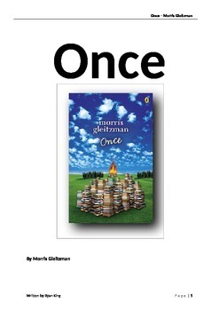 Novel Study - Once by Morris Gleitzman