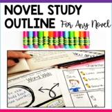 Novel Study Outline, Generic Novel Study Guide for Any Novel