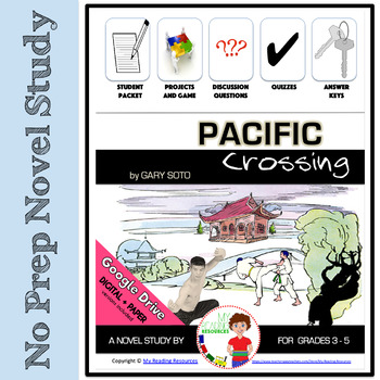 Novel Study: Pacific Crossing by Gary Soto