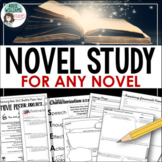Novel Study Bundle - Use with ANY NOVEL