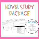 Novel Study Package for Any Grade and Book!