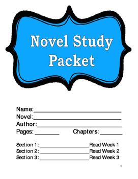 Novel Study Packet