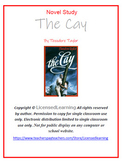 Novel Study Packet:  The Cay By Theodore Taylor