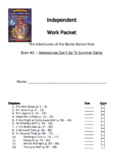 Novel Study Packet - Werewolves Don't go to Summer Camp - Bailey School Kids #2