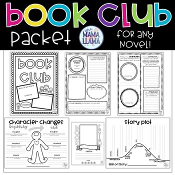 Novel Study Packet for ANY BOOK!