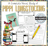 Novel Study: Pippi Longstocking by Astrid Lindgren
