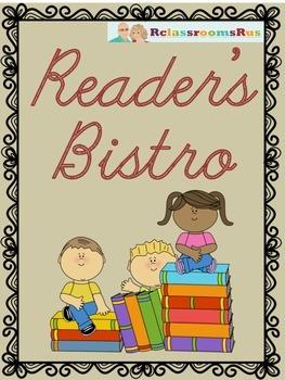 """Novel Study - """"Reader's Bistro"""""""