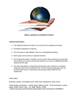 Novel Study - Real World Connections