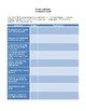 Novel Study, Romeo and Juliet (by William Shakespeare) Study Guide