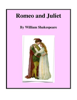 Novel Study, Romeo and Juliet (by William Shakespeare) Stu