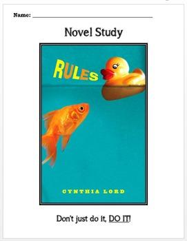 Novel Study: Rules by Cynthia Lord