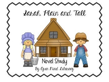 Novel Study:  Sarah Plain and Tall