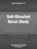 Novel Study, Self-Directed Journal Response & Activities