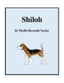 Novel Study, Shiloh (by Phyllis Reynolds Naylor) Study Guide