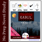 Novel Study:  Shooting Kabul by N.H. Senzai - print + DIGITAL