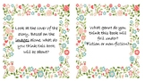 Novel Study Station Question Cards