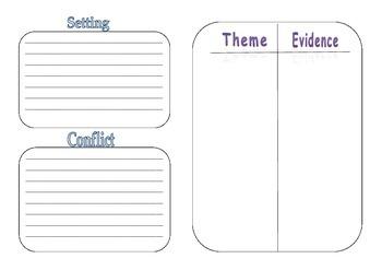 Novel Study-Story Elements