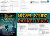 Novel Study Student Packet & KEY- Peter Nimble & His Fantastic Eyes (Auxier) - W
