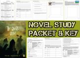 Novel Study Student Packet & KEY - The Ghost's Grave (Kehret) - U