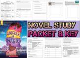 Novel Study Student Packet & Key - A Snicker of Magic (Lloyd) - W