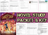 Novel Study Student Packet & Key - Candy Shop War (Mull) - Level W