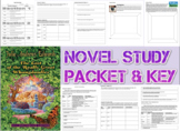 Novel Study Student Packet, Key -Last of the Really Great Whangdoodles - Level X