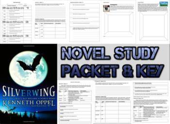 Novel Study Student Packet & Key - Silverwing (Oppel) - U